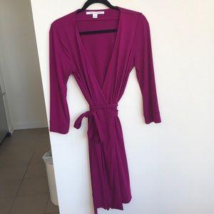 Diane Von Furstenberg wrap dress size 8